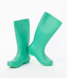 Ocean Swell Green Rubber Rain Boot