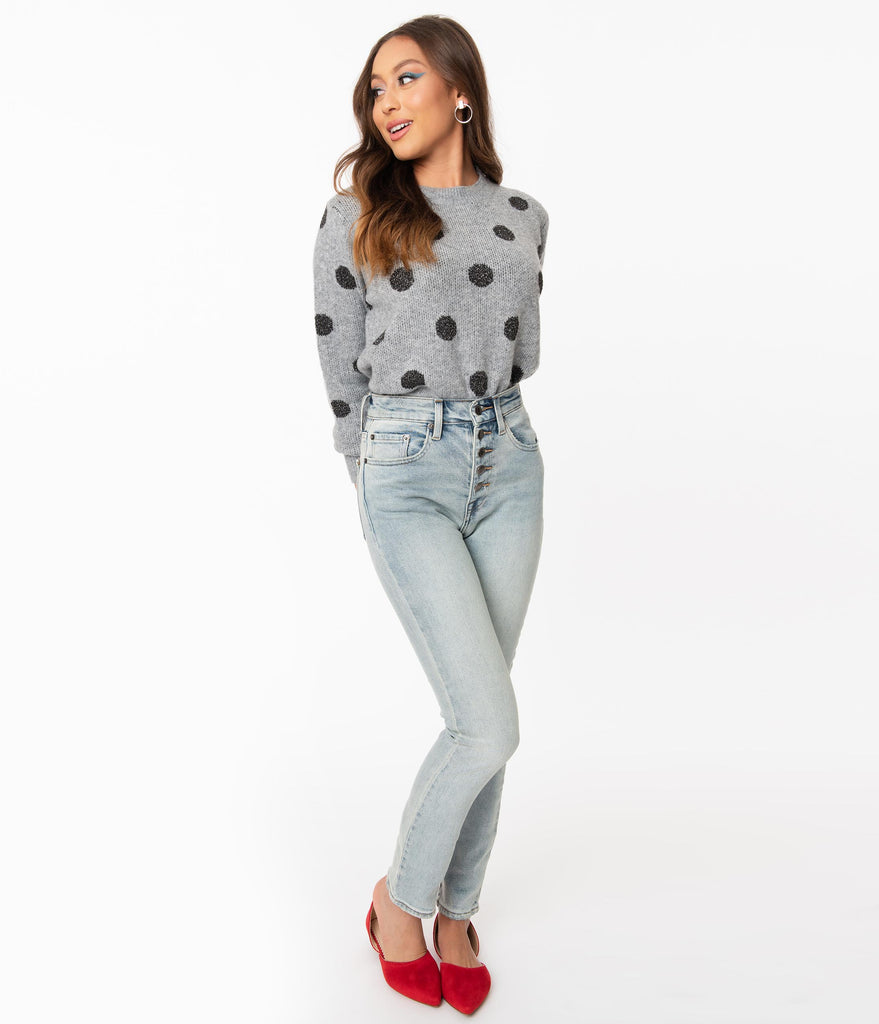 Pistola Pale Blue Denim High Rise Skinny Jean