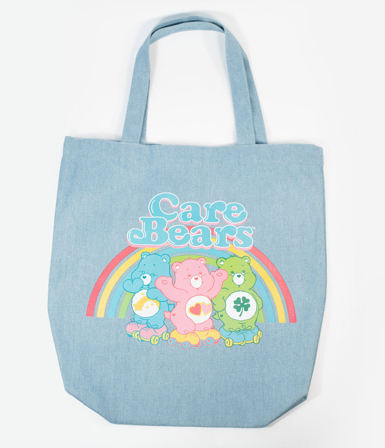 Care Bears x Unique Vintage Denim Tote
