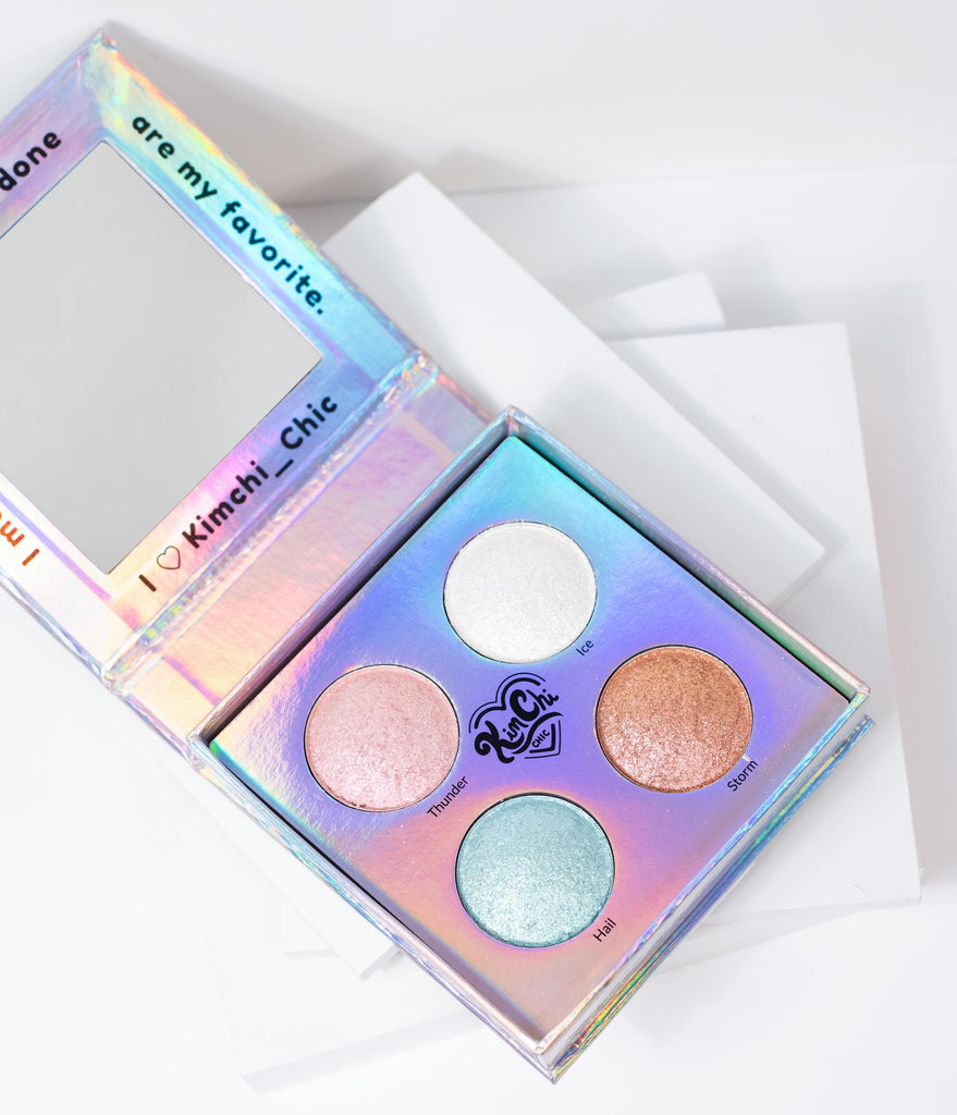 KimChi Chic Halographic Toppers Shimmer Palette