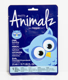 Pretty Animalz By Masque Bar Blue Owl Sheet Mask