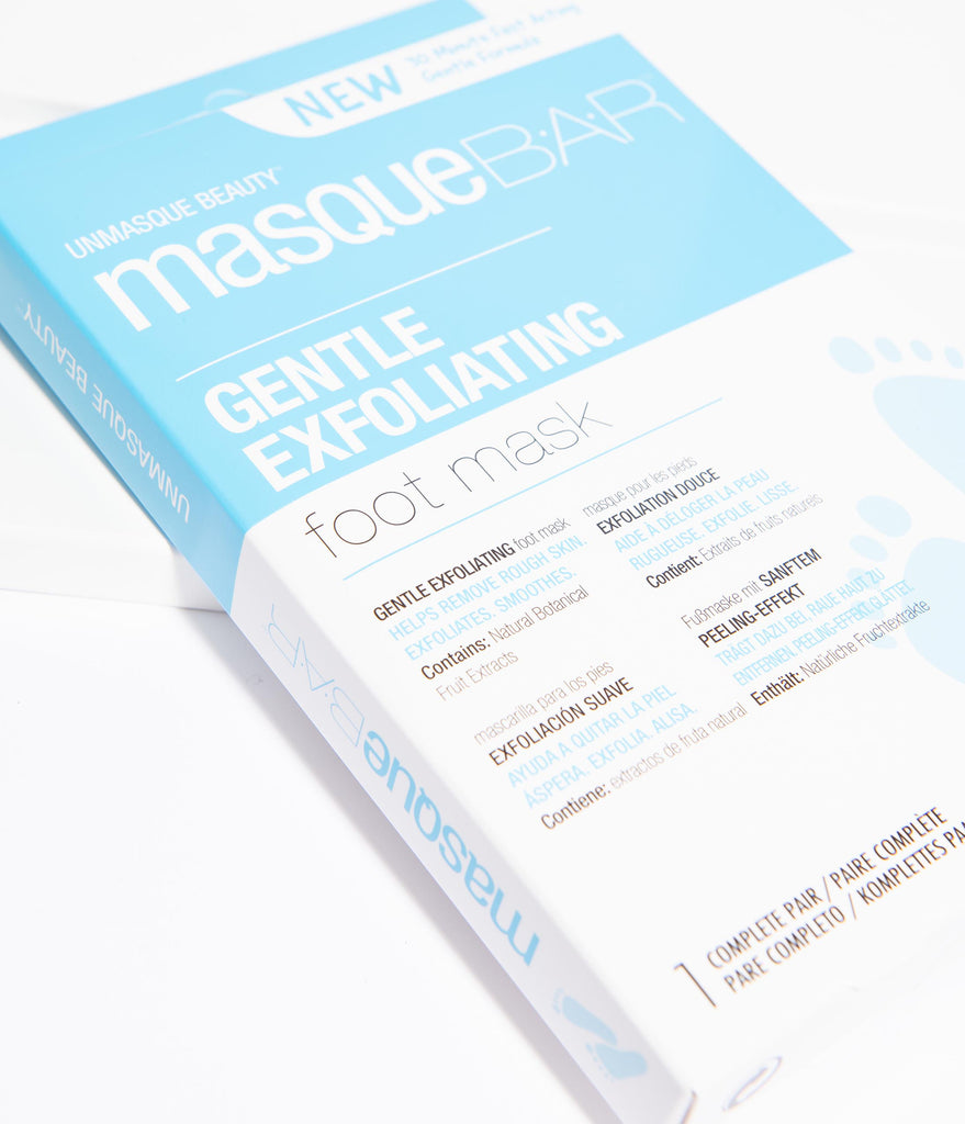 Masque Bar Gentle Exfoliating Foot Mask