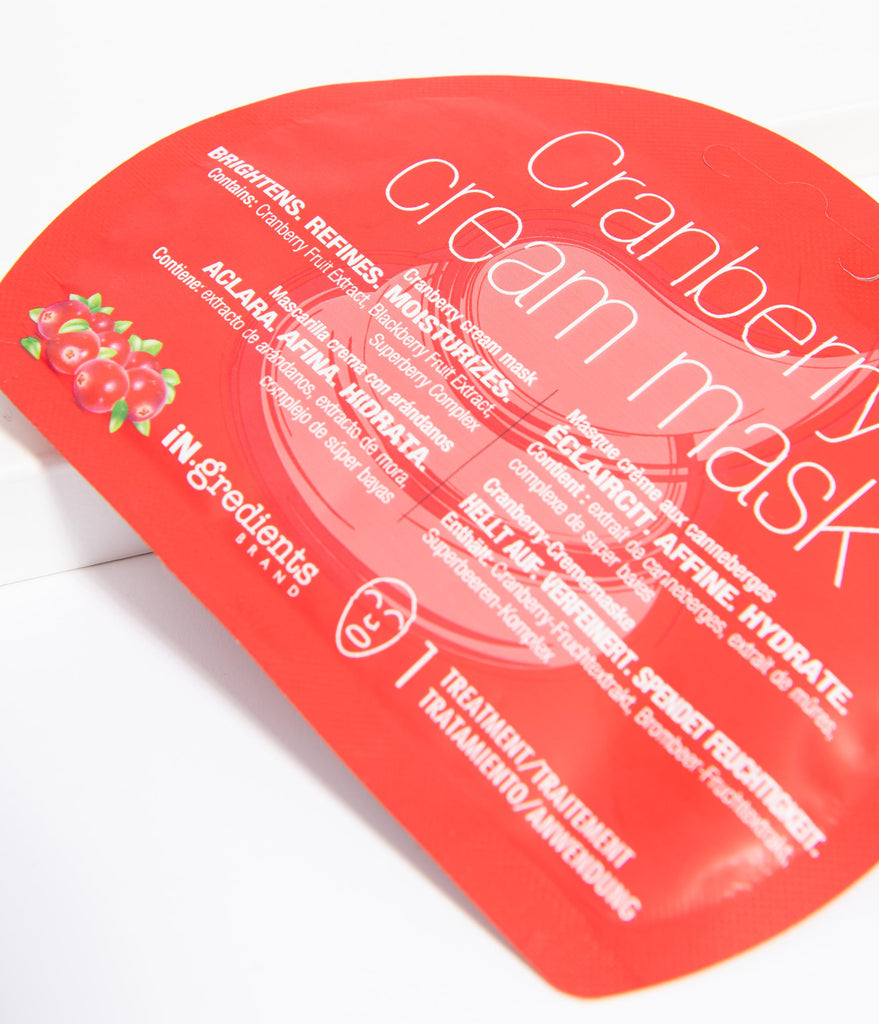 IN.gredients Cranberry Cream Mask