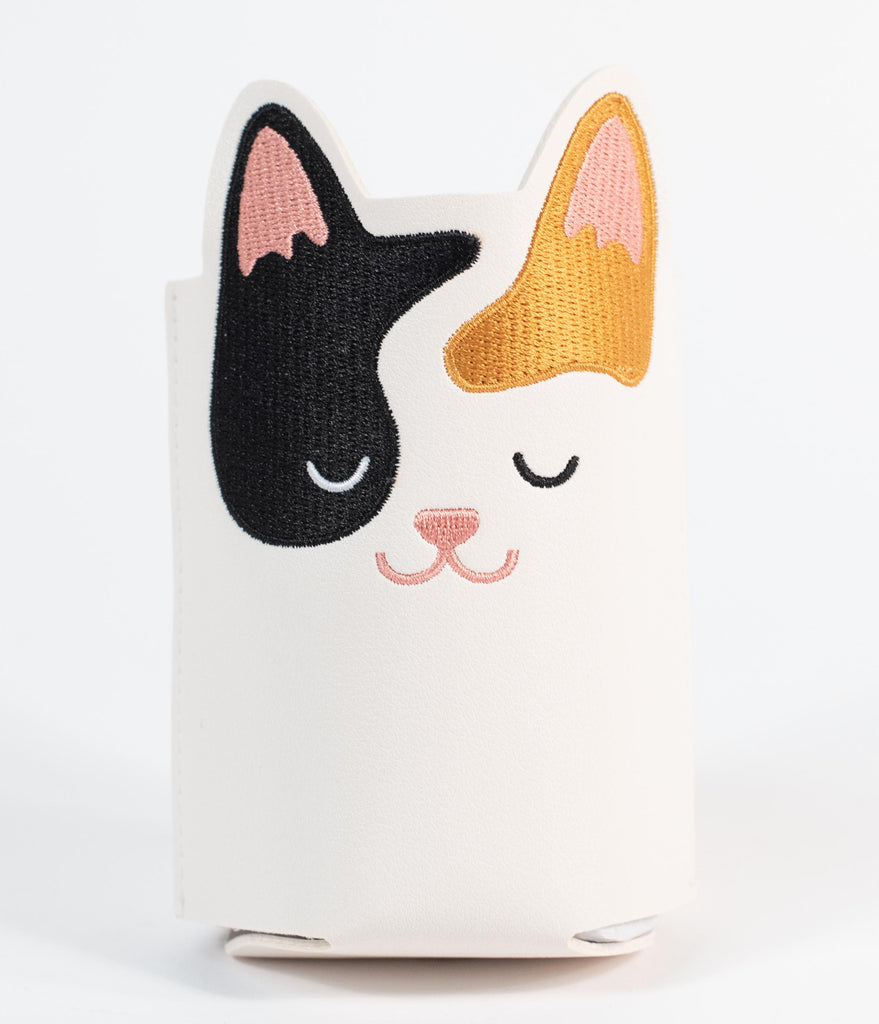Calico Cat Drink Sleeve Cozy