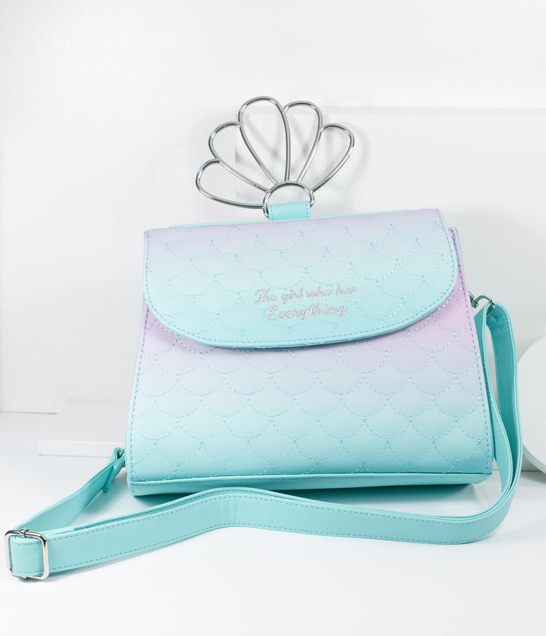 Loungefly Ombre Scales Little Mermaid Handbag