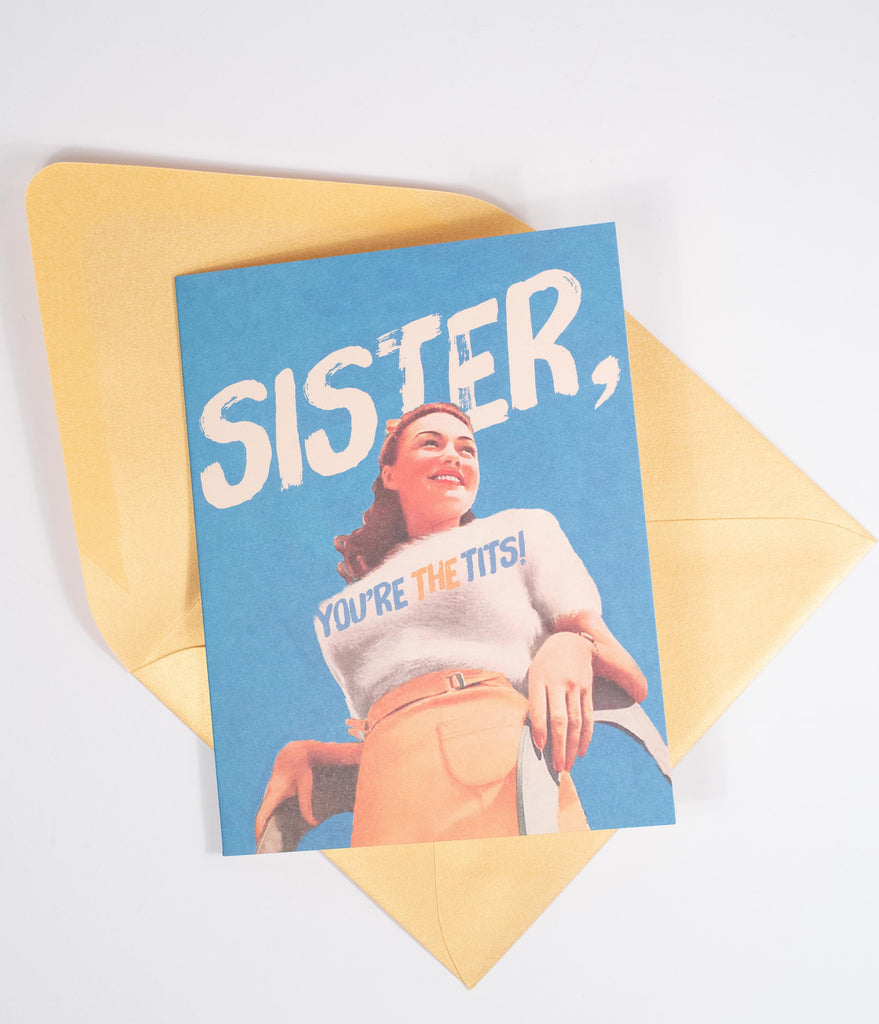 Sister Youre The Tits Card