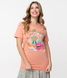 1970s Sunset Groovy Baby Unisex Graphic Tee
