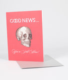 Good News Birthday Card