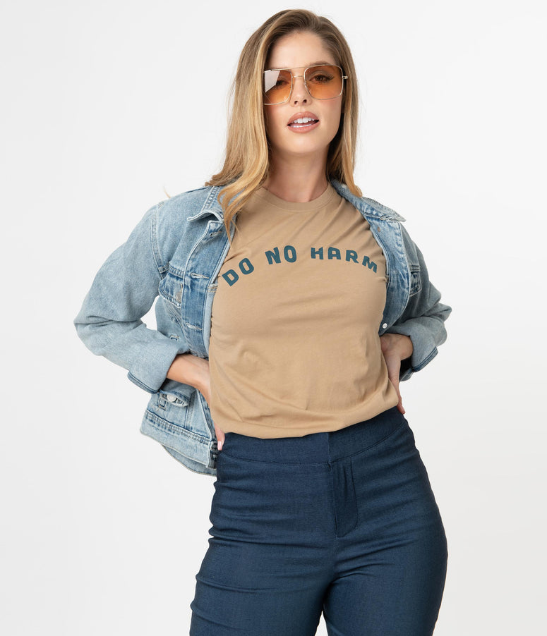 Do No Harm But Take No Shit Unisex Tee