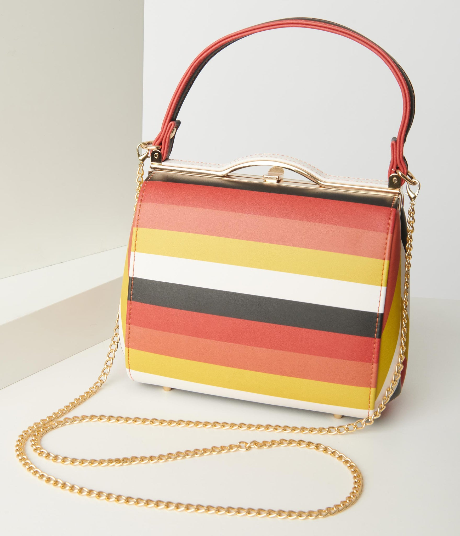 Collectif Candy Corn Stripe Carrie Purse