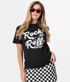Rock & Roll All Night Graphic Unisex Tee