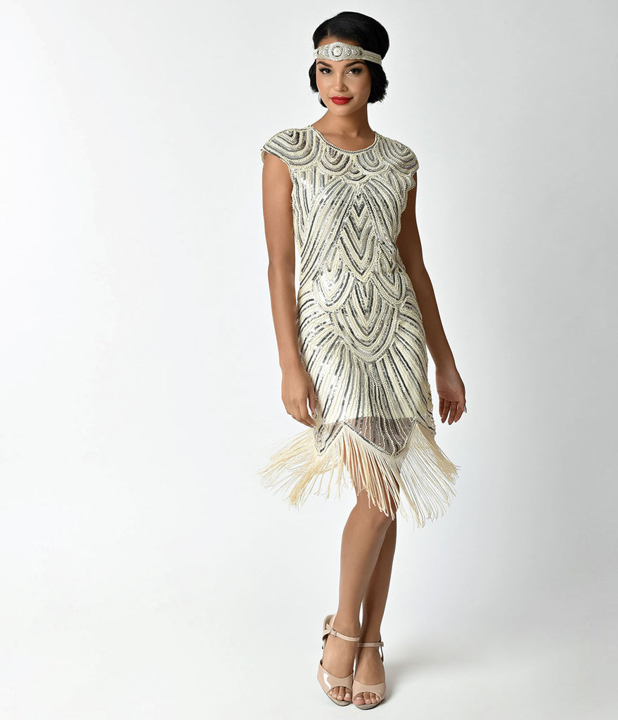 Dresses and Flapper Hat 1920