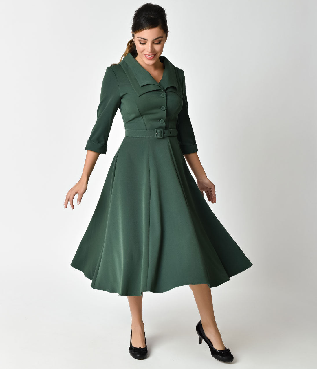 1940s Dressing Gown: Shop 1940s Style Shirt Dress