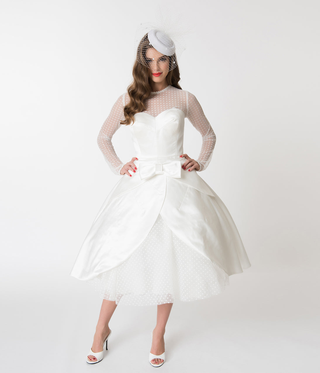 Vintage Wedding Dresses In London: 50s Wedding Dress, 1950s Style Wedding Dresses, Rockabilly