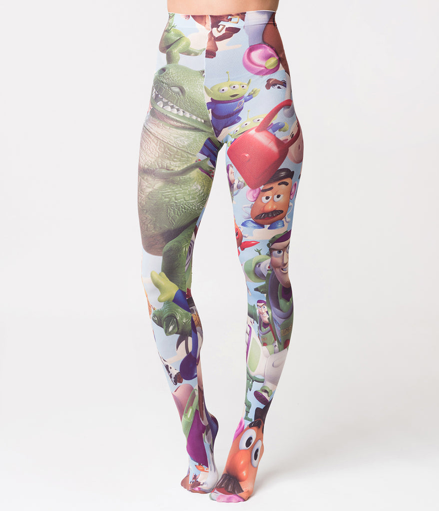 Irregular Choice Galactic Roundup Toy Story Tights