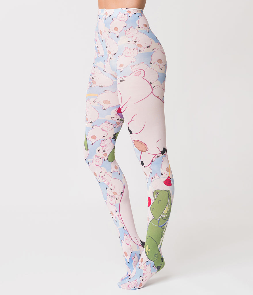 Irregular Choice Hamm N Rex Toy Story Tights