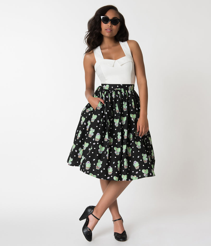 Flared Skirt Dress