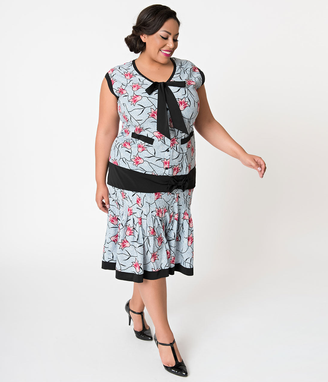 Plus Size Vintage Dresses, Plus Size Retro Dresses
