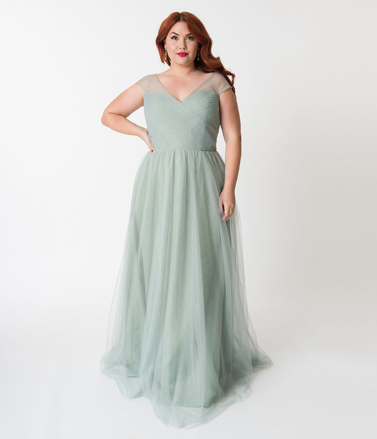 Vintage Bridesmaid Dresses - Retro Tea-Length & Long Styles ...