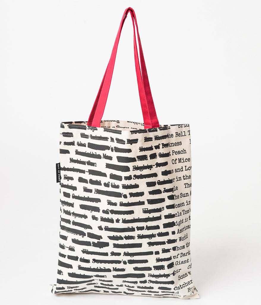 Banned Books Canvas Tote Bag