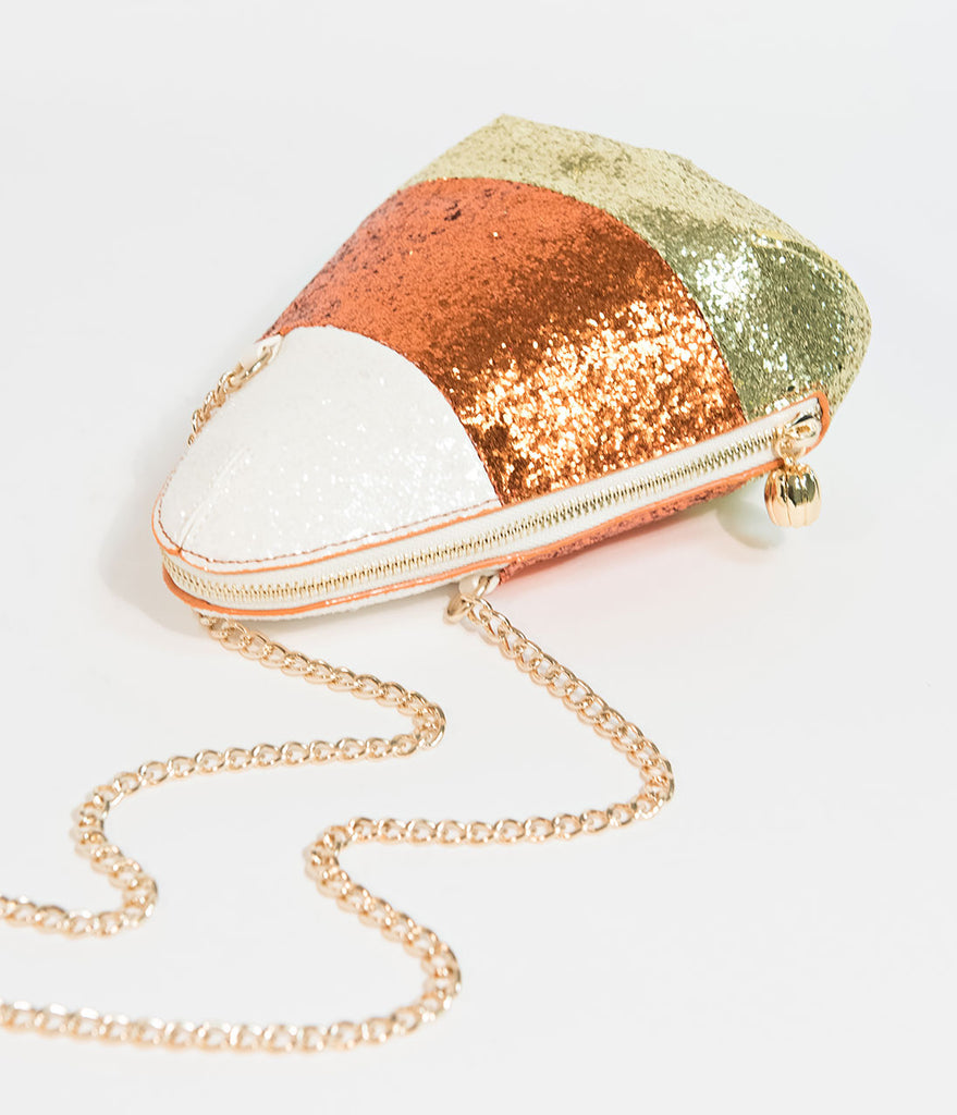Betsey Johnson Candy Corn Crossbody Purse