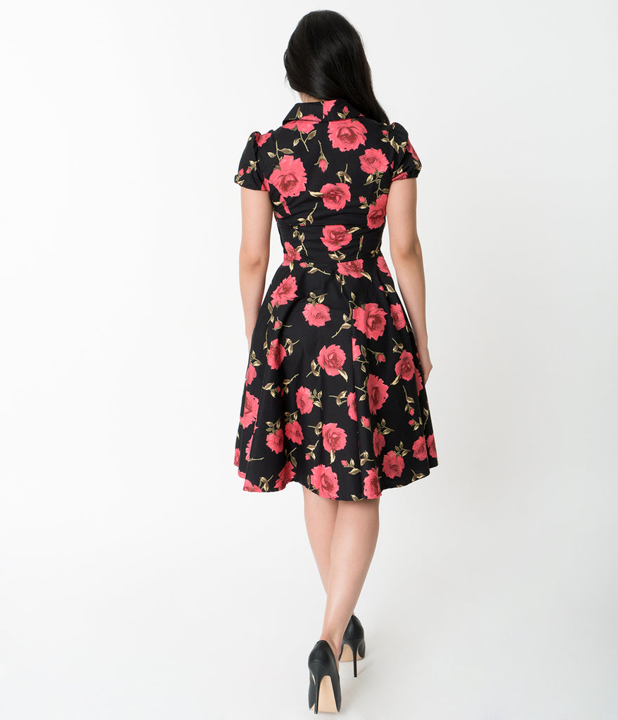 Rose Pattern Dress Interesting Design Ideas