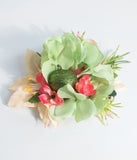Green Apple Of My Eye Flower Hair Clip