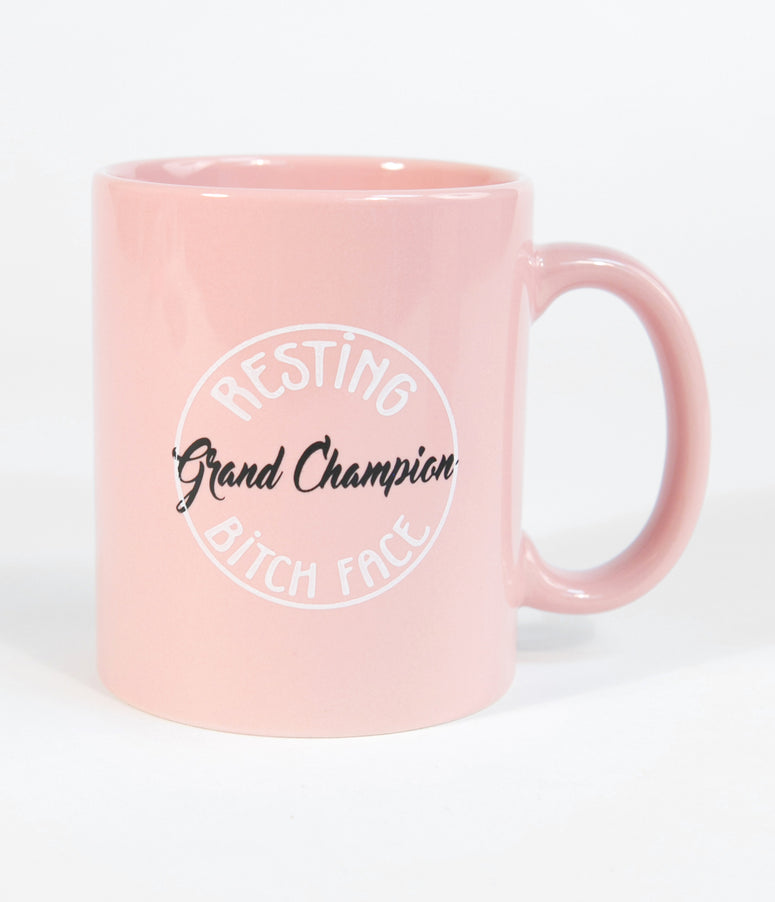 Light Pink Grand Champion Ceramic Mug