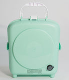 Retro Style Lucite Green & White Trim Beach Sounds Speaker