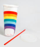 Rainbow Insulated Tumbler Cup