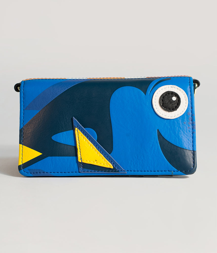 Loungefly Finding Nemo & Dory Disney Pixar Crossbody Wallet