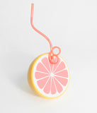 Yellow & Pink Grapefruit Sipper