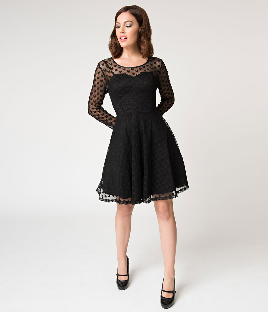 Buy Sleeve Long fit and flare dress pictures pictures trends