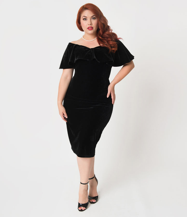 Plus Size Vintage Dresses Swing Pencil Dresses Page 2 Unique