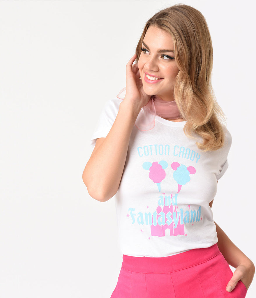 Happiest Tees on Earth Exclusive Cotton Candy & Fantasyland Unisex Tee