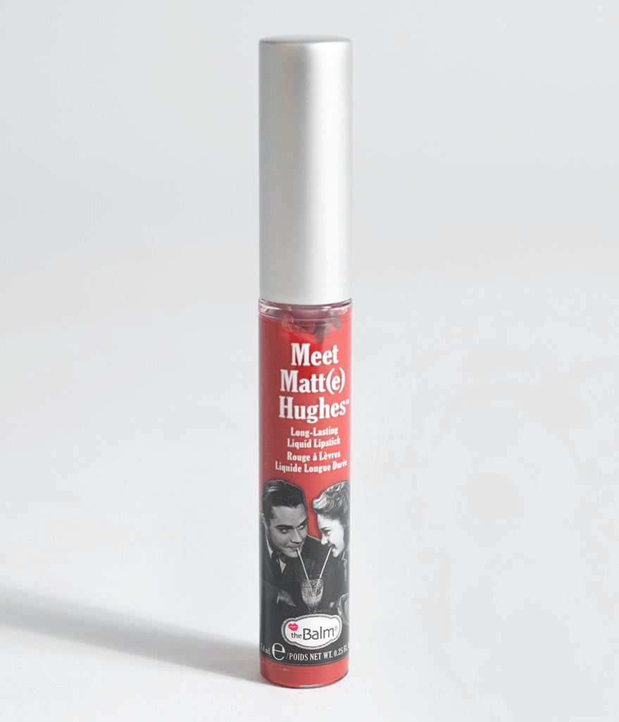 theBalm Meet Matt(e) Loyal Red Liquid Lipstick