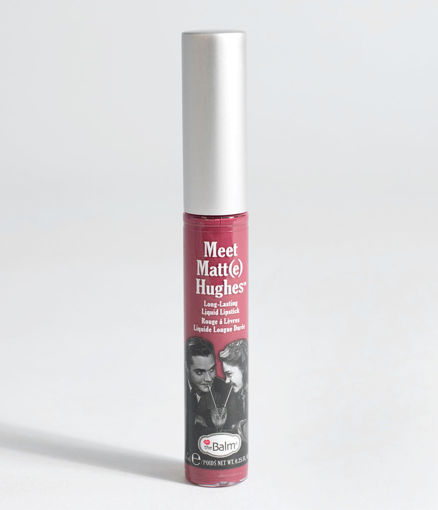 theBalm Meet Matt(e) Faithful Magenta Liquid Lipstick