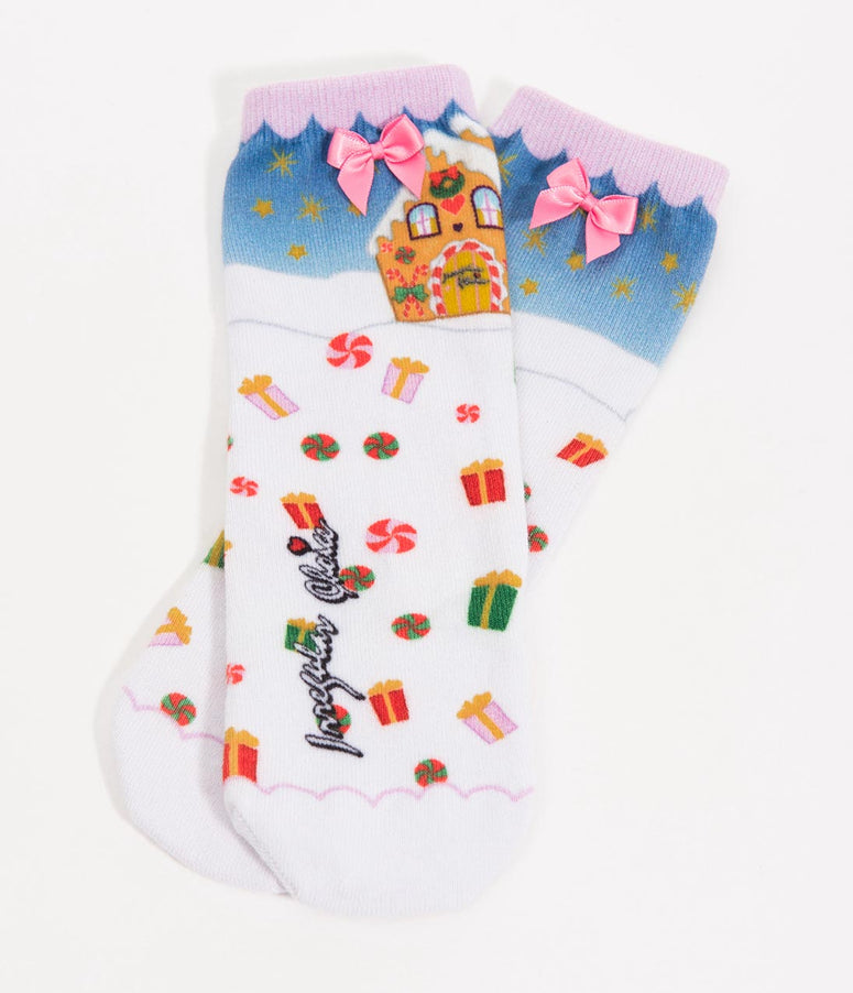 Irregular Choice Santa's Grotto Sockadelic Ankle Socks
