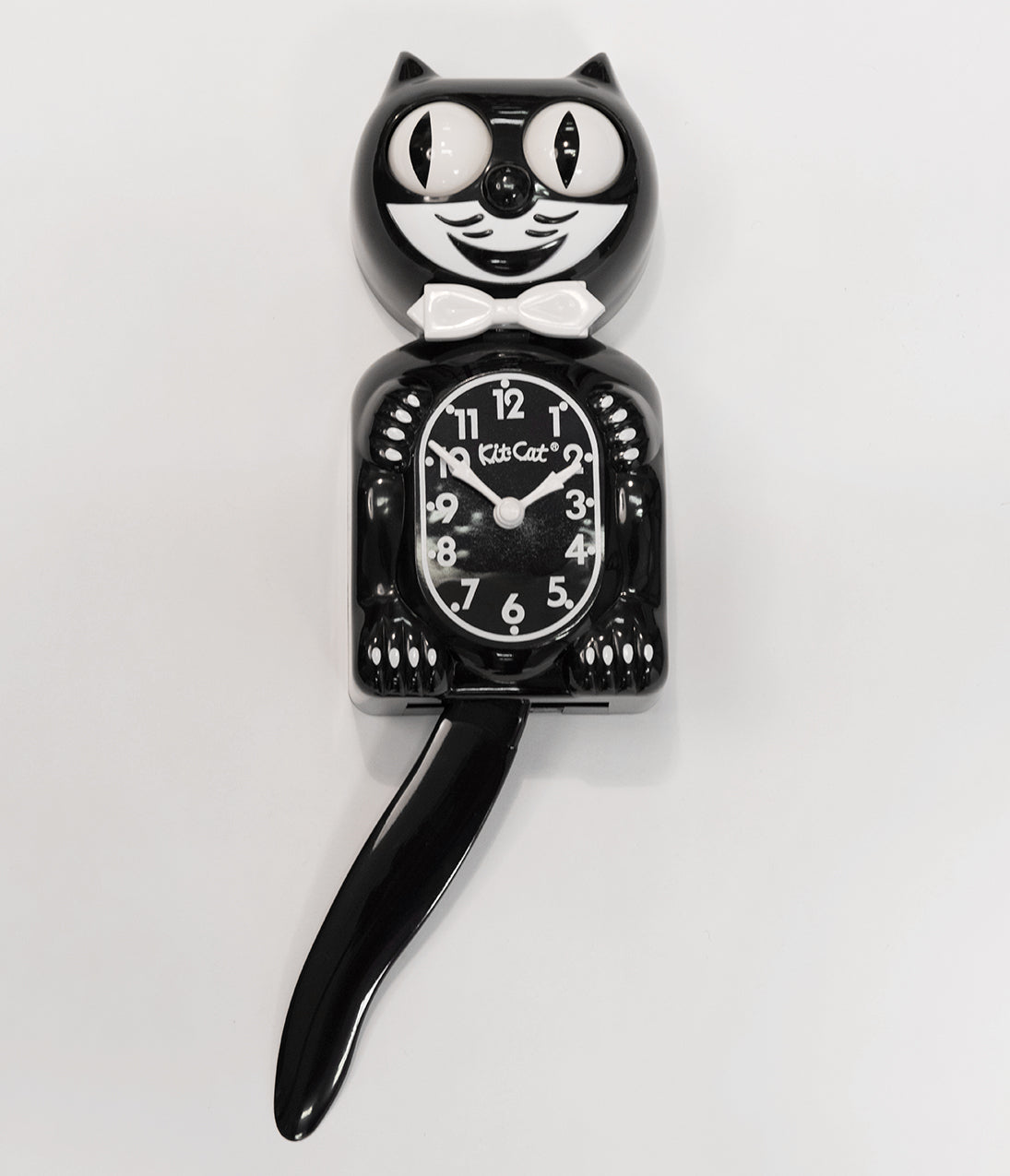 Classic Gentleman Black Kit-Cat Klock