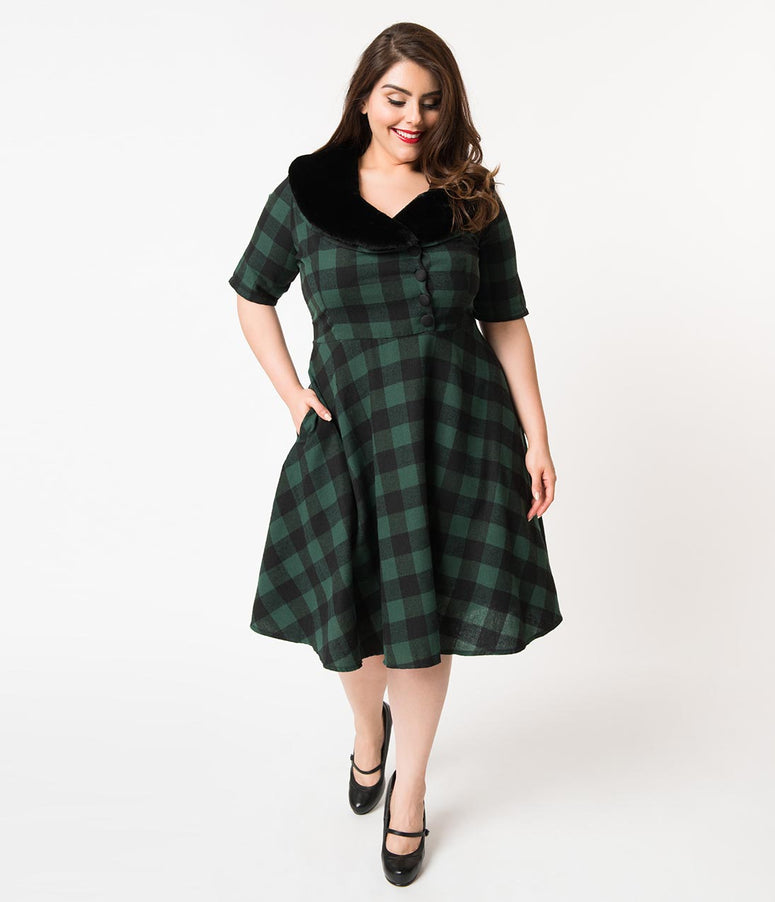Plus Size Vintage Dresses Swing Pencil Dresses Unique Vintage