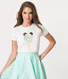Whosits and Whatsits Exclusive Minty Mouse Ice Cream Womens Tee