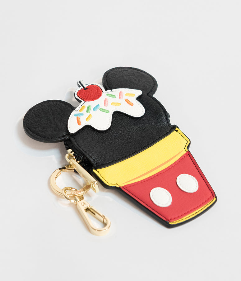 Loungefly Mickey Mouse Ice Cream Cone Coin Purse
