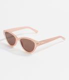 Quay Soft Pink Rizzo Cat Eye Sunglasses