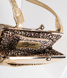 Gold Sparkle To Die For Purse