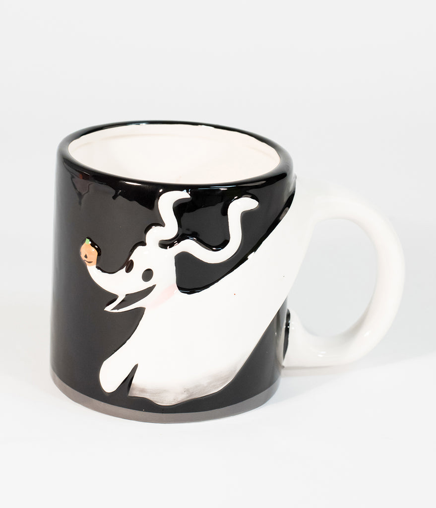 Black Nightmare Before Christmas Zero Ceramic Mug – Unique Vintage