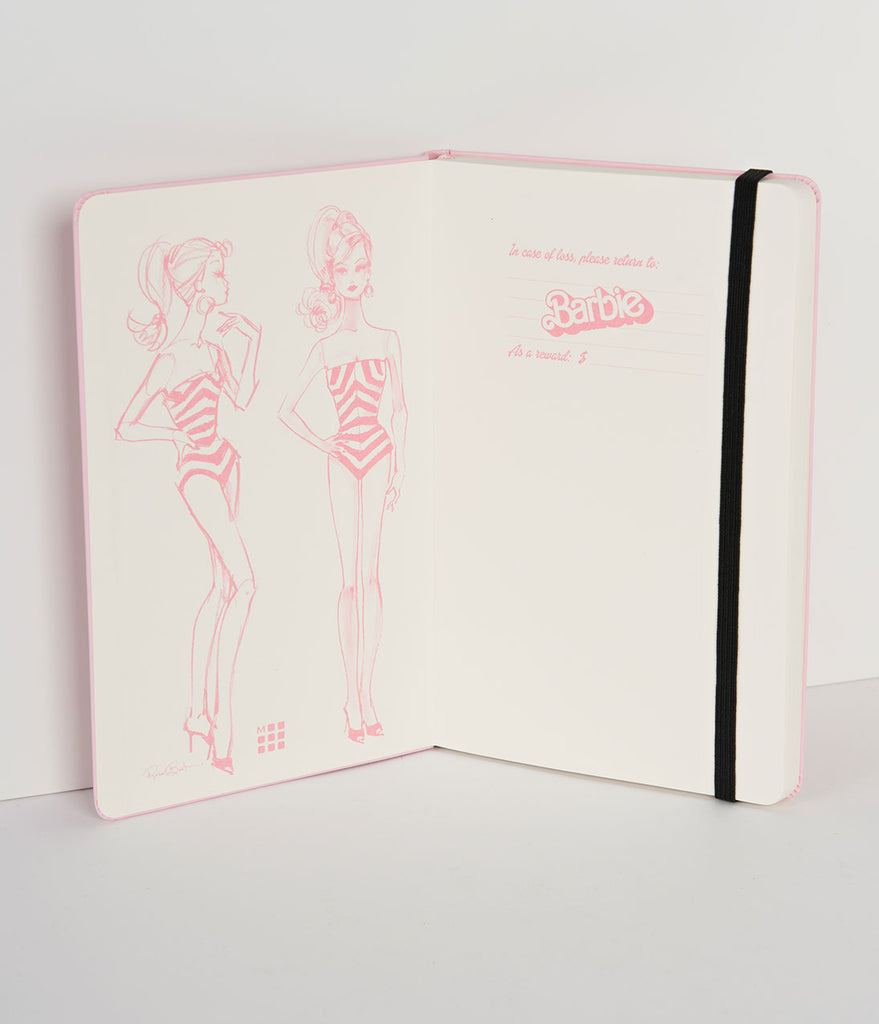 Pink Barbie Swimsuit Limited Edition Moleskine Notebook