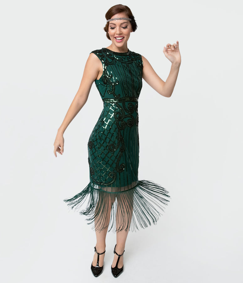 Vintage 1920s Inspired Cocktail Dresses