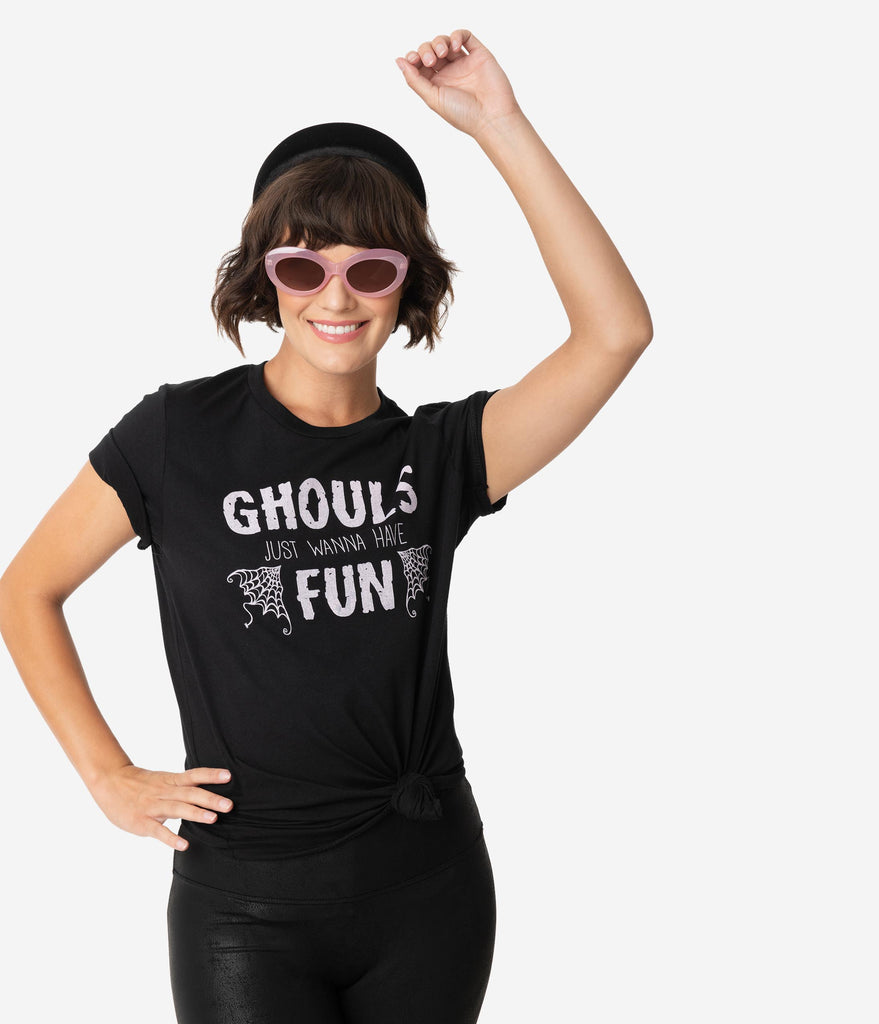 Ghouls Just Wanna Have Fun Short Sleeve Unisex Tee