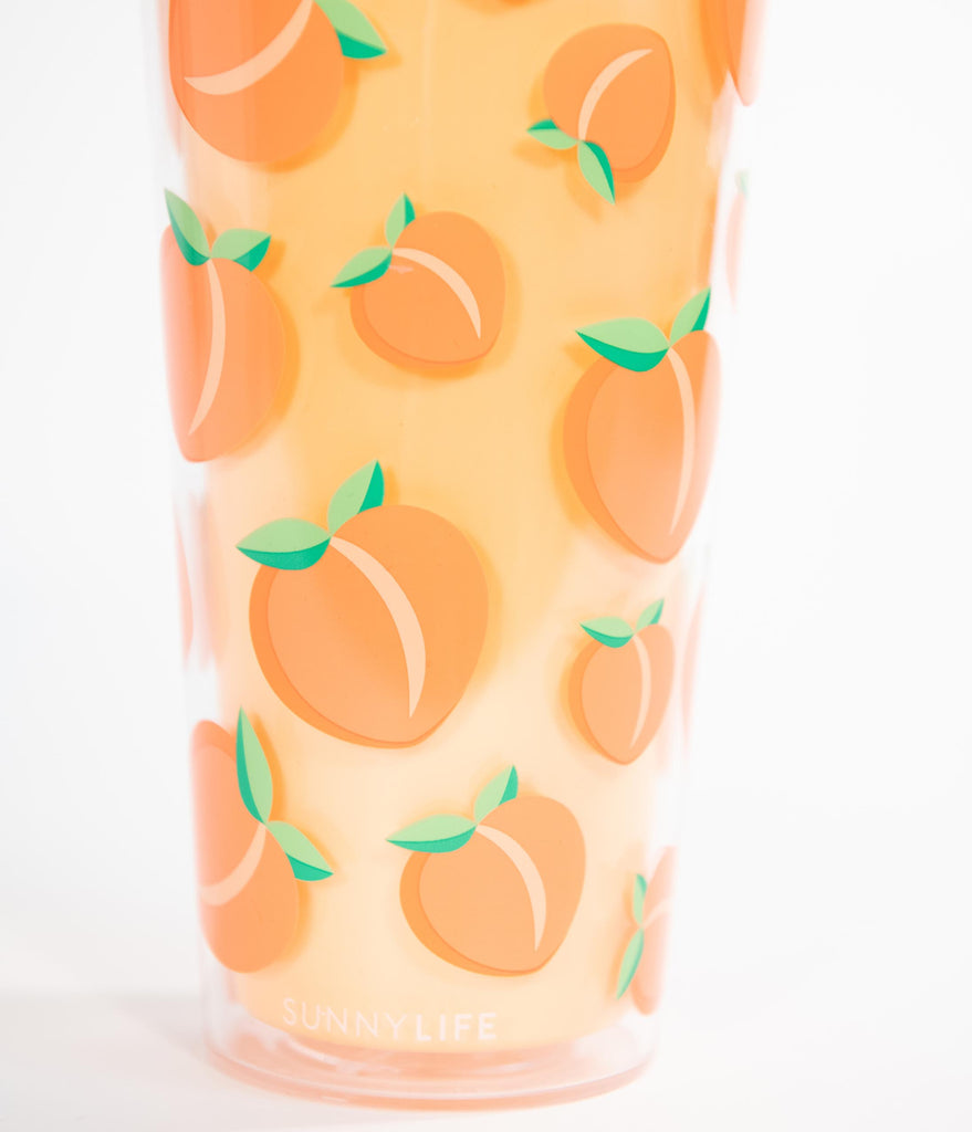 Peaches Insulated Tumbler Cup