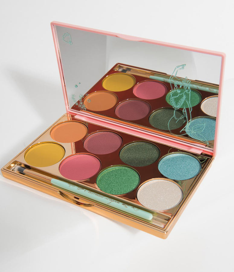 Besame Treasures Of The Lagoon Peter Pan Shadow Palette